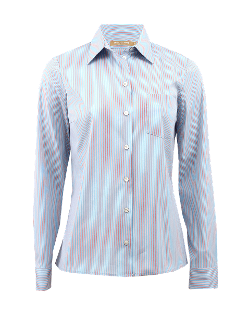 Michael Kors - Classic Stripe Shirt With Pocket