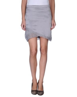 Liu •Jo - Lace Satin Skirt