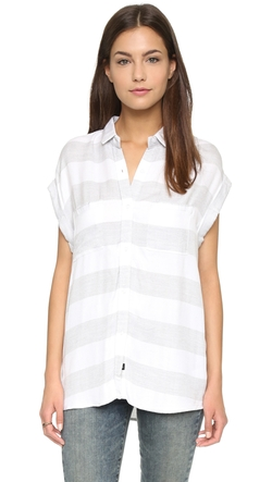 Rails Britt  - Sleeveless Button Down Shirt