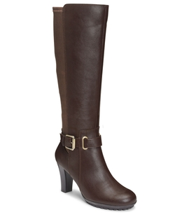 Aerosoles - Ornament Faux Leather Boots