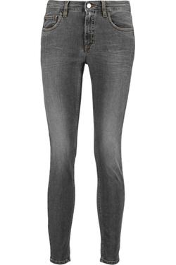 Victoria Beckham Denim  - Ankle Slim Mid-Rise Jeans