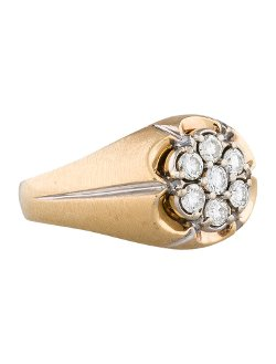 Fine Jewelry Ring - Diamond Cluster Ring