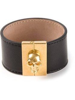 Alexander Mcqueen  - Skull Clasp Cuff Bracelet