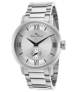 Lucien Piccard - Steel Silver-Tone Dial Watch