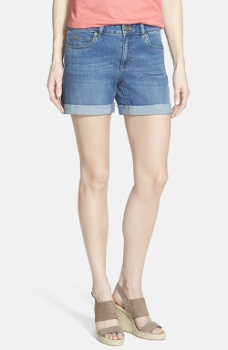 Two By Vince Camuto - Five Pocket Denim Shorts