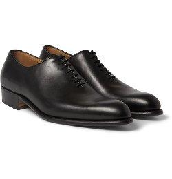 J.m. Weston - Flore Leather Oxford Shoes