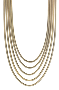 Vince Camuto - Multi-strand Long Layered Chain Necklace