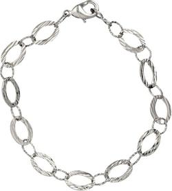 Kinzie Fashion - Overlay Link Chain Bracelet