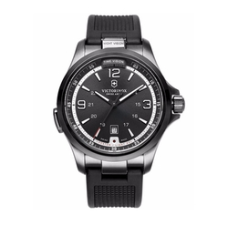 Victorinox Swiss Army - Night Vision Rubber Strap Watch