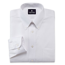Stafford - Travel Performance Pinpoint Oxford Dress Shirt