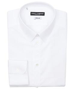 Dolce & Gabbana - Cotton Point Collar Dress Shirt