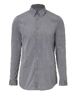 JIL SANDER  - Cotton Beata Shirt in Dust