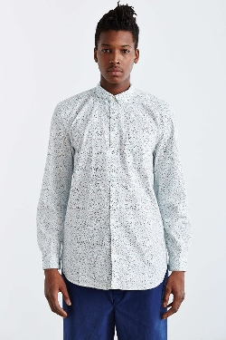 Your Neighbors  - Tempo Ditsy Floral Button-Down Shirt