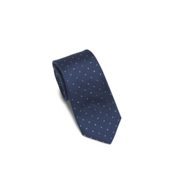 Michael Kors - Dotted Silk and Wool Tie