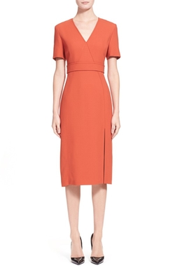 Jason Wu  - Short Sleeve Sheath Dress