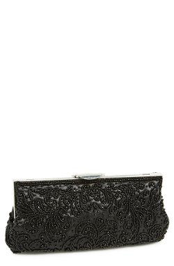 Nina  - Howard Beaded Clutch