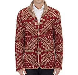 Zanone - Rib-Knit Shawl-Collar Cardigan