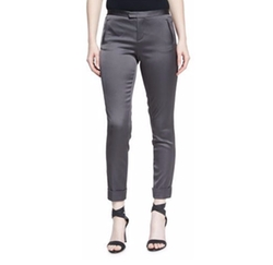 ATM Anthony Thomas Melillo - Stretch Satin Classic Slim Pants