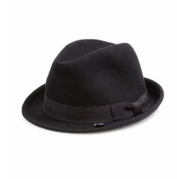 Barbisio  - Felted Rabbit Hair Fedora Hat