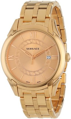 Versace  - Gold Ion-Plated Stainless Watch