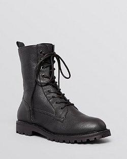 Max Mara  - Flat Lace Up Combat Boots