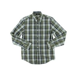Club Room - Cotton Plaid Button-Down Shirt