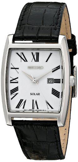Seiko - Dress-Solar Classic Strap Watch