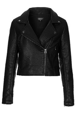 Topshop - Ultimate Faux Leather Biker