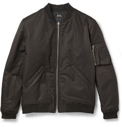 A.P.C. - Cotton-Blend Bomber Jacket