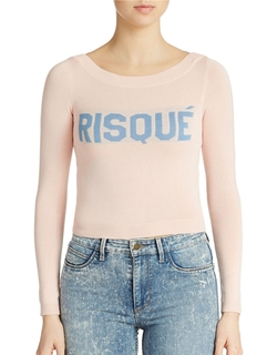 Guess - Risque Cropped Sweater