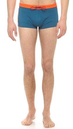 Marc Jacobs  - Colorblock Swim Trunks
