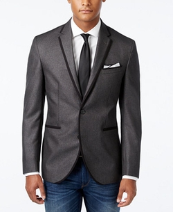 Kenneth Cole Reaction - Solid Slim-Fit Dinner Jacket