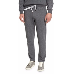 Brunello Cucinelli - Cotton-Blend Drawstring Sweatpants