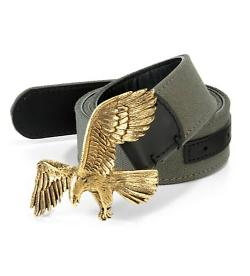 Giuseppe Zanotti - Antiqued Bronze Eagle Belt