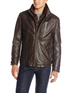 Marc New York by Andrew Marc  - Mercer Smooth Lamb Leather Jacket