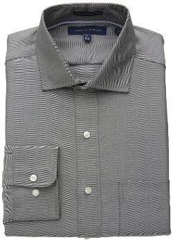 Tommy Hilfiger - Regular-Fit Twill Solid Dress Shirt