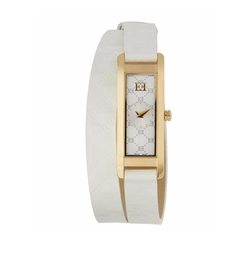Escada - Patent Leather Florence Wrap Watch