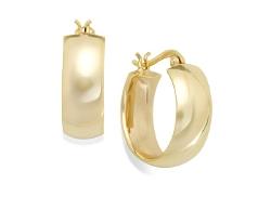 Giani Bernini  - Bold Hoop Earrings