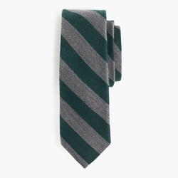 J.Crew - English Wool-Silk Tie in Old-School Stripe