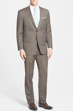 Hart Schaffner Marx  - Classic Fit Stripe Suit