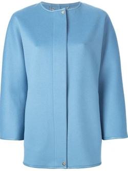 Salvatore Ferragamo  - Boxy Fit Coat