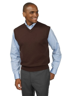 Paul Fredrick - Cashmere V-Neck Sweater Vest Be the first to review this item