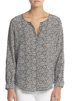 Joie Dasha  - Silk Print Blouse