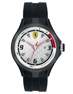 Ferrari  - Pit Crew Black & White Watch