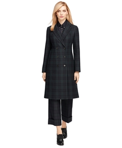 Brooks Brothers - Wool Blend Double-Breasted Coat