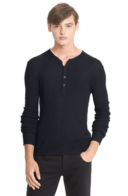 Rag & Bone  - Merino Wool Henley Shirt