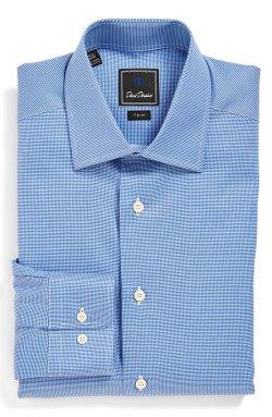 David Donahue - Texture Dress Shirt