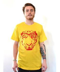 Artisan Tees  - Hipster Tiger T-shirt