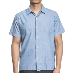 Agave Denim - Camper Neps Chambray Camp Shirt