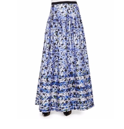 Kay Unger New York - Floral-Print Ball Skirt